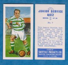 Northern Ireland Charlie Tully Glasgow Celtic 7 JSQ